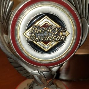 Harley Davidson vintage watch with stand